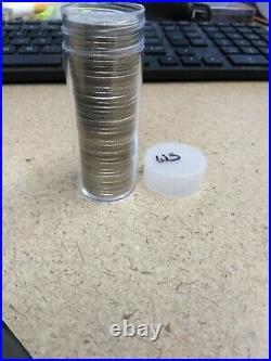 $10.00 Fv 90% Silver U. S. Coins Washington Quarters Roll