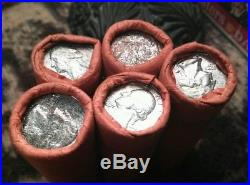 (10) 1958-p Never Opened Silver Quarter Rolls Obw Unopened