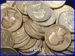 $10 FV Roll of Washington Silver Quarters 25c (40 Coins) ECC&C, Inc
