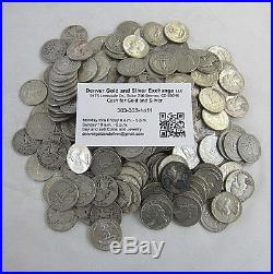 $10 Face Washington Quarters 90% Silver Mixed Dates & Mint Marks 40 / One Roll
