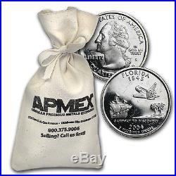 $10 Proof Quarters 90% Silver 40-Coin Roll (Impaired) SKU #37167