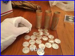 $10 Roll, (40 Coins) Proof Silver Statehood Quarters, Mixed Issues
