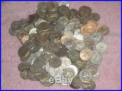 10 Rolls 90% Silver Washington Quarters $100 Face Value 400 Coins $1100