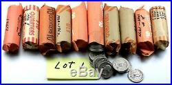 10 Rolls of Washington Silver Quarters