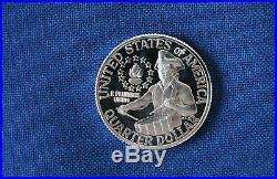 1776-1976-S Washington DCAM Silver Proof Quarter Little Drummer Boy Roll of 40