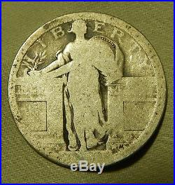 1917 Type 1 Standing Liberty Quarter No Date 40 Coin Roll