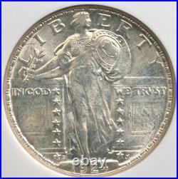 1924 D Standing Liberty Quarter Ngc Ms 64 Blazing White Roll Fresh Luster