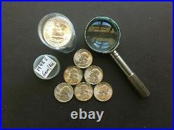 1945 S Bu/gem Roll Of 40 Washington Quarters 90% Silver