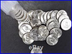 1946-D BU Washington Quarter Roll Very tough date Free US Shipping