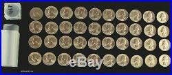 1946 (P) BU Roll of 40 Silver Washington Quarters UNC Uncirculated Coins