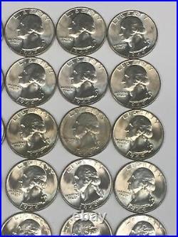 1949-P 25C Washington Quarter BU Roll of 38