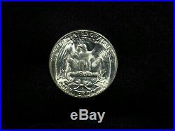 1953-S Washington Quarter 40 COIN FULL ROLL CHOICE BU+ SILVER
