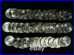 1953-S Washington Quarter 40 COIN FULL ROLL CHOICE BU+ SILVER #2