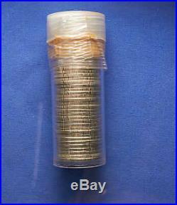 1954-D Washington Quarter Roll Silver. B. U