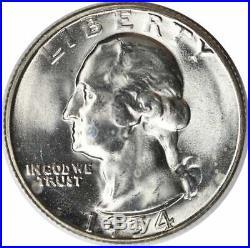1954-S BU Silver Washington Quarter Roll