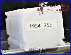 1954 Washington Quarter Roll BU SILVER