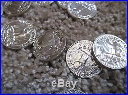 1958 Gem Proof Washington Silver Quarter Proof Roll