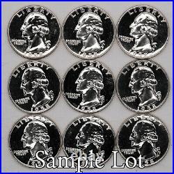 1958 Proof Washington Quarters 25c Silver Gem Pf Uncirculated Full Roll