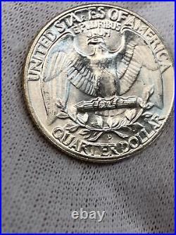 1959-D 25C Washington Silver Quarter BU Roll