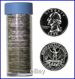 1959 Proof Washington Quarter 25c Gem Proof Full Roll 40 Coins