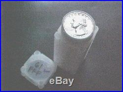 1961 Proof Washington Silver Quarter Roll/40 Gem Coins