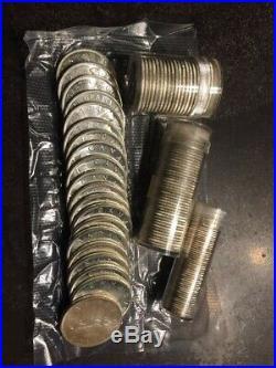 1962 Canada Rolls Dollar, Half Dollar, Quarter and Dime 80% Silver UNC