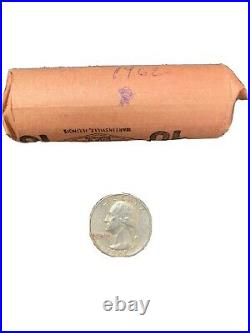 1962d roll of silver quarters
