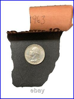 1963 silver roll of quarters