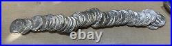 1964 Choice BU ROLL Washington Silver Quarters