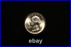 1964-D Washington Silver Quarter BU Roll 40 Uncirculated Coins