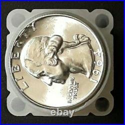 1964-P BU ROLL, 90% Silver Washington Quarters, 40 Count, GORGEOUS COINS