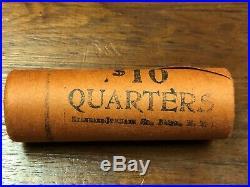 1964-P UNC. Shotgun Roll of (40) Washington Quarters