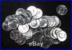 1964 Washington Quarter 40 Coin Full Roll BU (BULK)