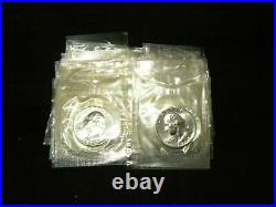 1964 Washington Silver Quarter Proof HALF Roll 20 Coins in US Mint Cello