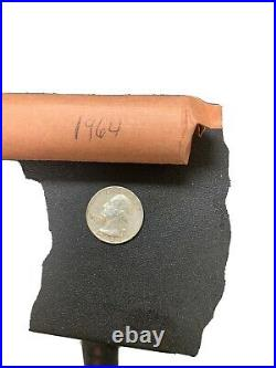 1964d roll of silver quarters
