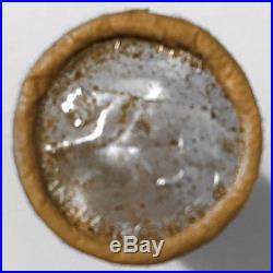 1967 Canada 25-cent Silver Quarter Centennial Bobcat Original Roll