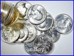 1976-s 40% Silver Washington Quarters Roll