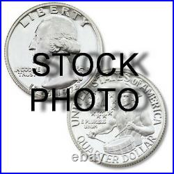 1976-s Us Washington Quarter Roll 40% Silver $10 Face Proof Avg (40 Coins)