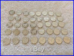 1997-S Washington 90% Silver Quarter Proof Roll of 40 Coins