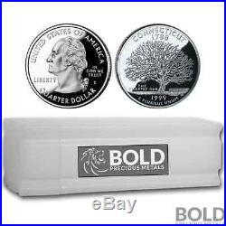 1999-S Silver Proof State Quarter Roll (40 Coins) CONNECTICUT
