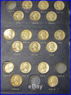 1/2 Roll Of Mixed Silver Quarters No Repeats