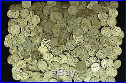 1 Roll (40) Coins $10 Face Value of Mixed Standing Liberty Silver Quarters (SLQ)