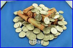 1 Roll (40) Coins of Washington Silver 90% Quarters (wsq)