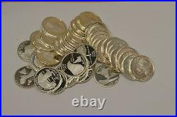 1 Roll 40 Gem Proof 90% Silver State/Territories Quarters Mixed Dates Item# 3364