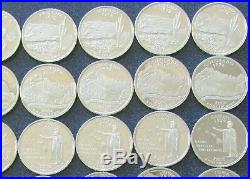 (1) Roll Mixed State Proof Quarters 90% Silver Coins $10 Face Value #1706