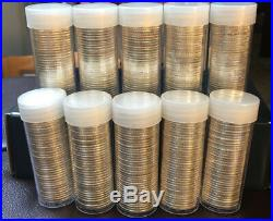 1 Roll of SILVER Proof State Quarters 40 Coins Mixed Designs 90%