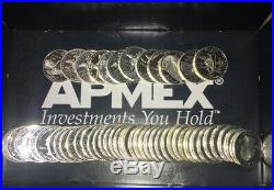 1 Roll of SILVER Proof State Quarters 40 Coins Mixed Designs 90% $10 Face