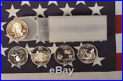 2004 S Silver State Quarter Proof Roll 4 Different 10 Ea 40 qtrs 25c No TX