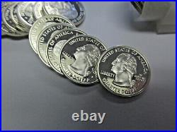 2005 California Roll of 40 Proof Silver State Quarters Deep Mirror Ultra Cameo