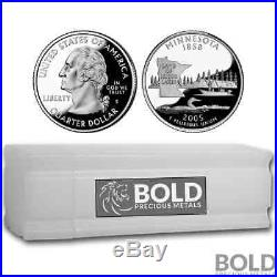 2005-S Silver Proof State Quarter Roll (40 Coins) MINNESOTA